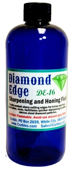 Diamond Edge Sharpening Fluid, Pint.
